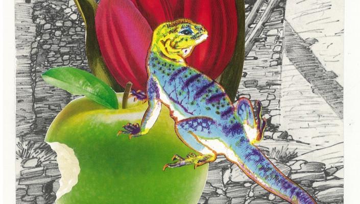 The Lizard King in the Secret Garden